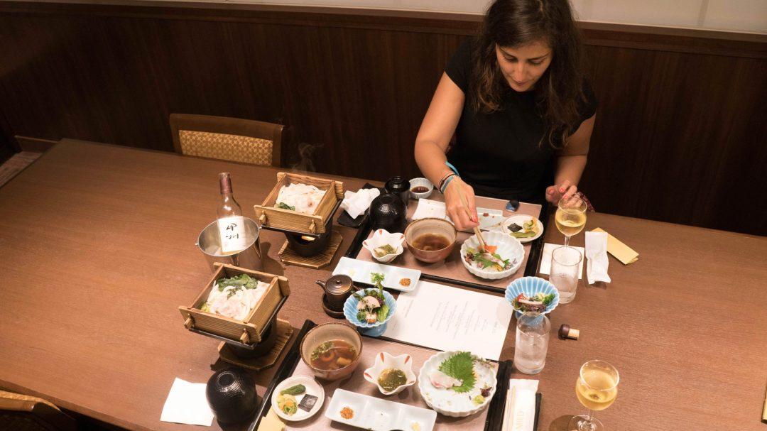 Dîner japonais au Sunnide Resort