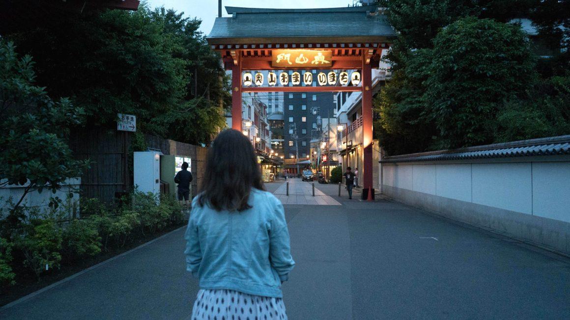 eatmytravel au japon sous un torii