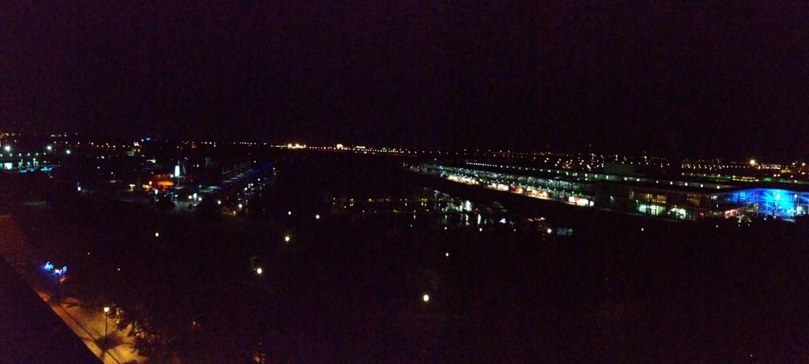 Vue de Montréal la nuit