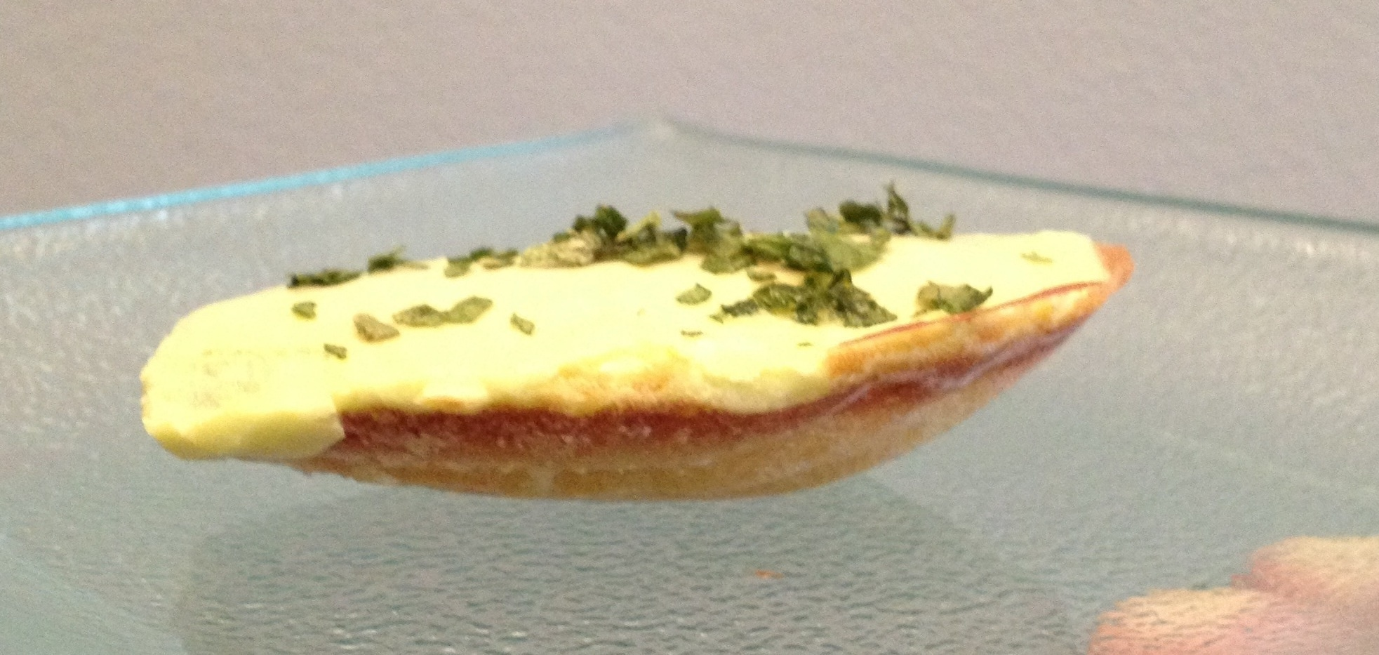 Le dessert de Magdeleine prêt à être dégusté