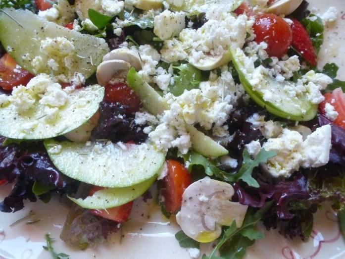 Salade du cafe House of Wonders