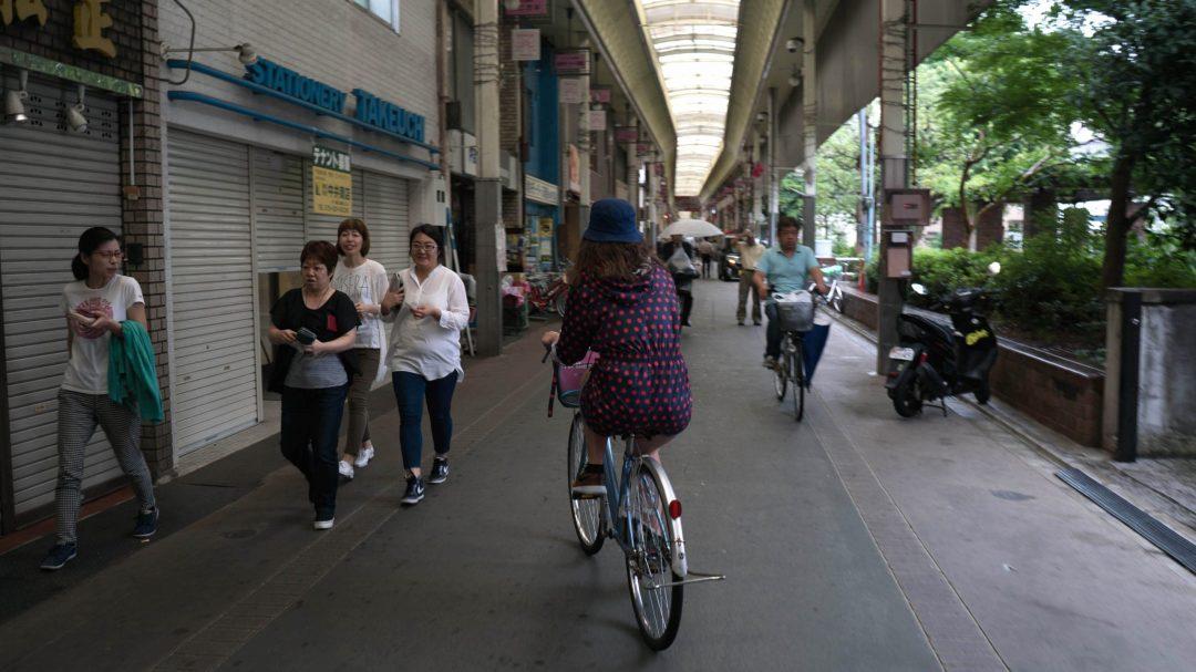 Les galeries couvertes du centre de Kyoto