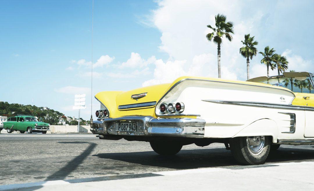 les vieilles voitures américaines de La Havane