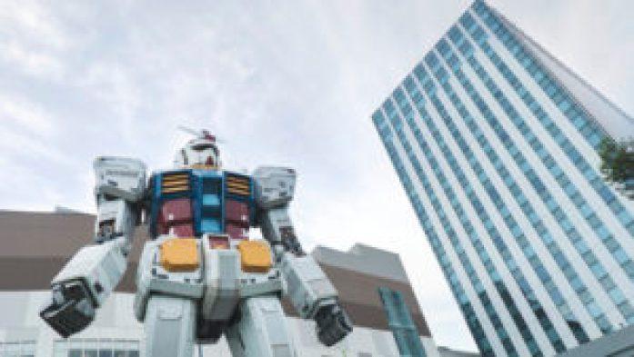 Gundam en taille réelle