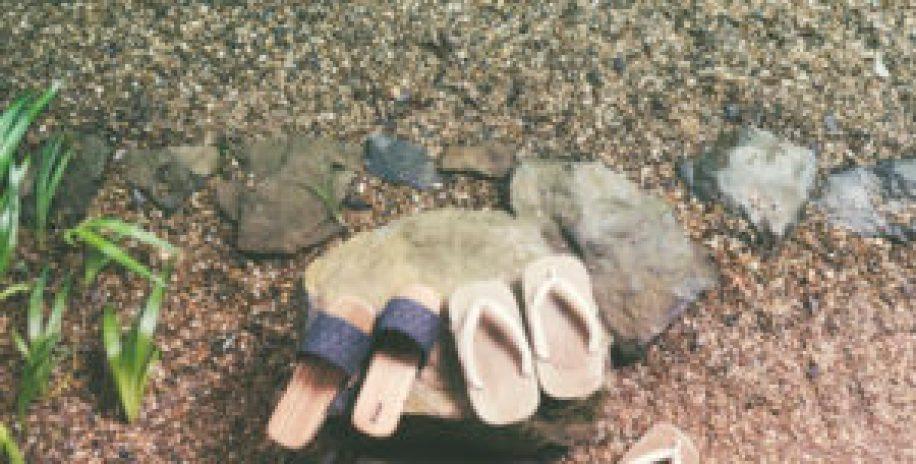 Les chaussons japonais