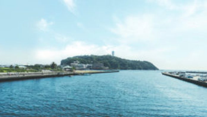 la presqu'île d'Enoshima