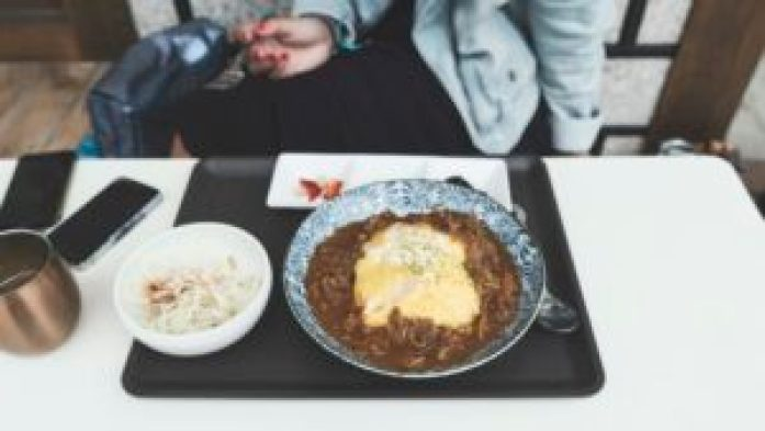 Le curry rice du Komi-Cofee
