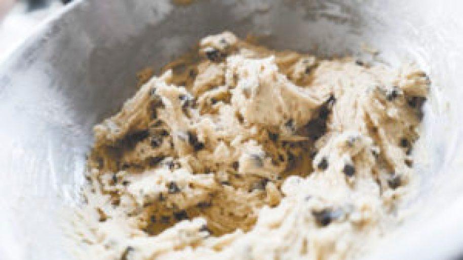 Préparation de la pâte à cookies 4
