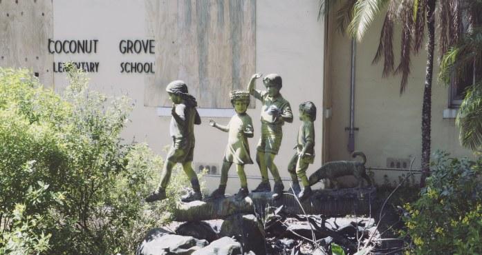 Coconut Gove elementary school