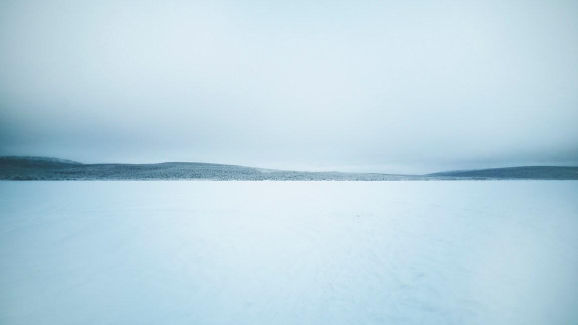 Lac gelé Kiruna
