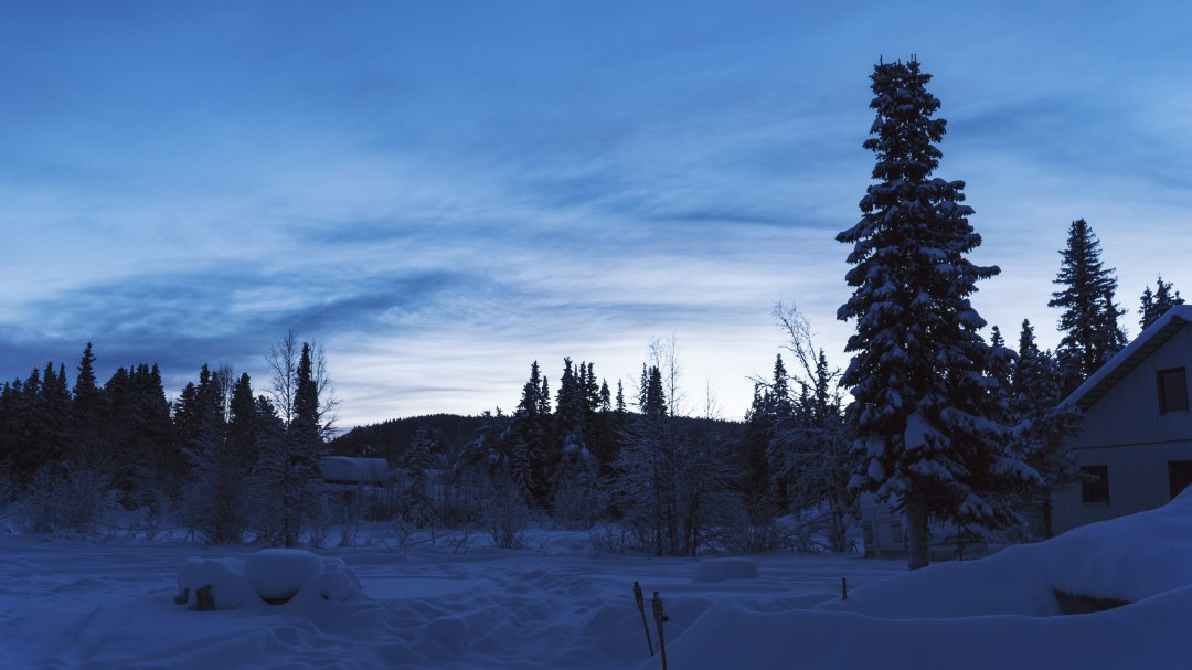 Paysage Laponie