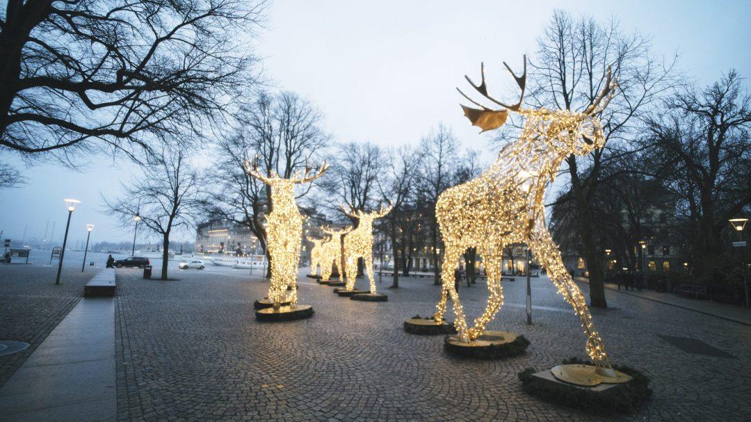 Stockholm illuminé