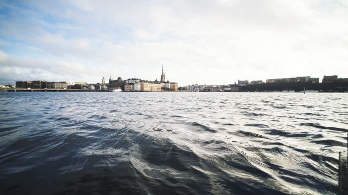 vue sur la vieille ville Stockholm