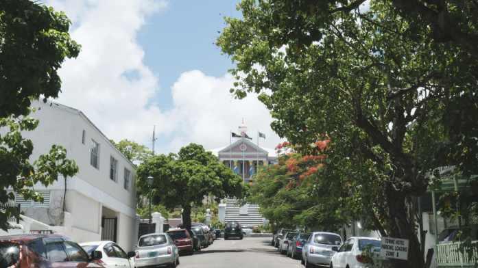 Palais du gouverneur à Nassau