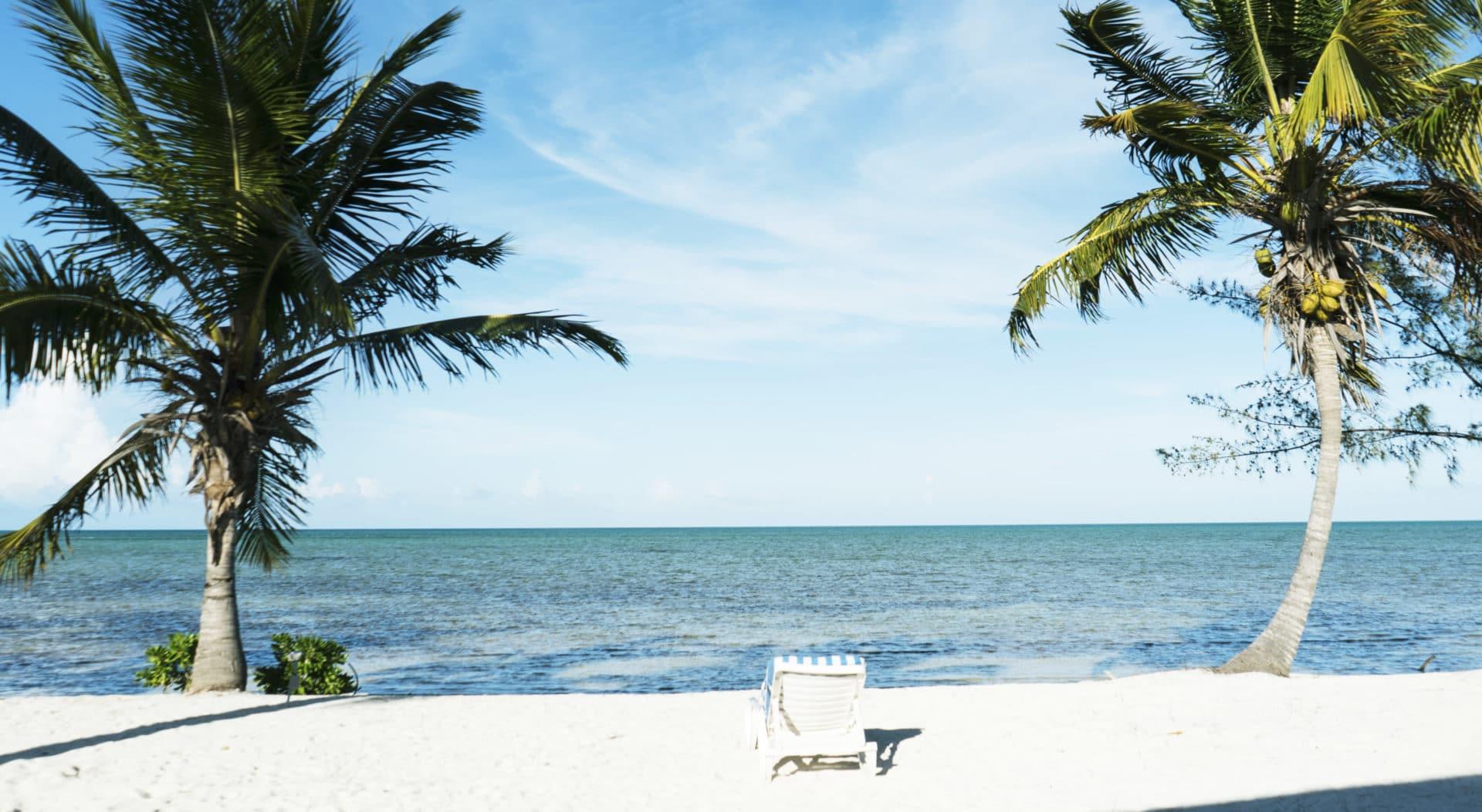 Plage aux Bahamas