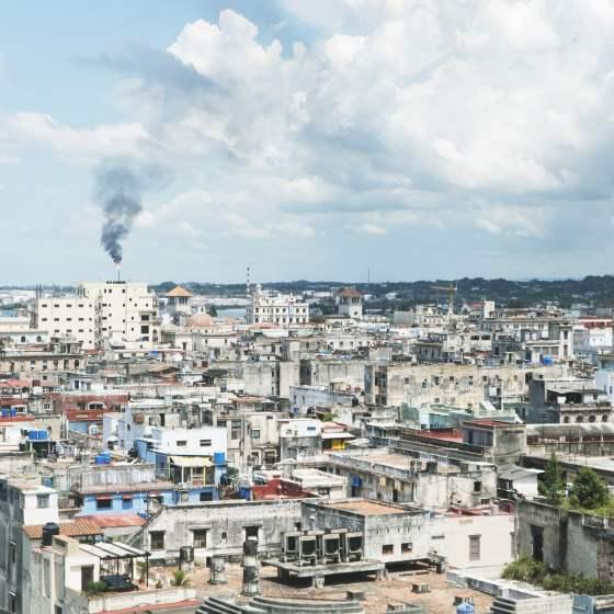les toits de La Havane