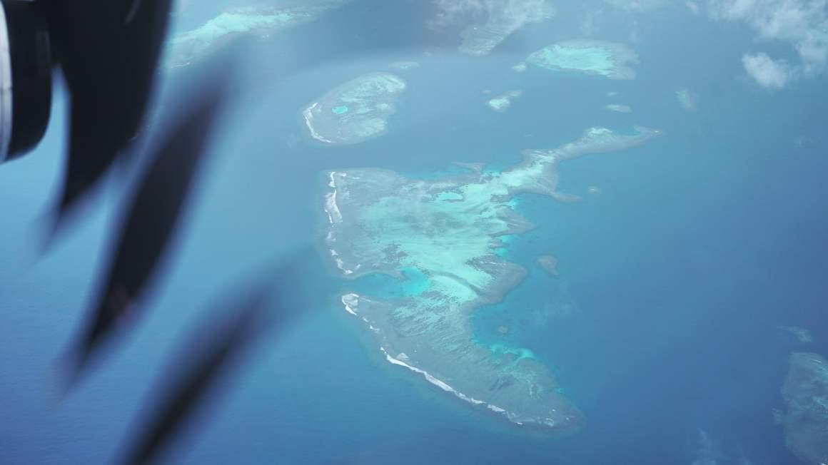 Les îles de Nouvelle-Calédonie vues du ciel