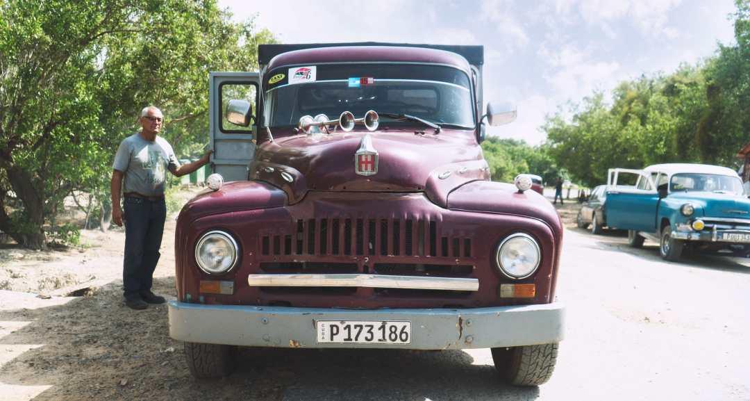 Taxi collectif à Cayo Jutias