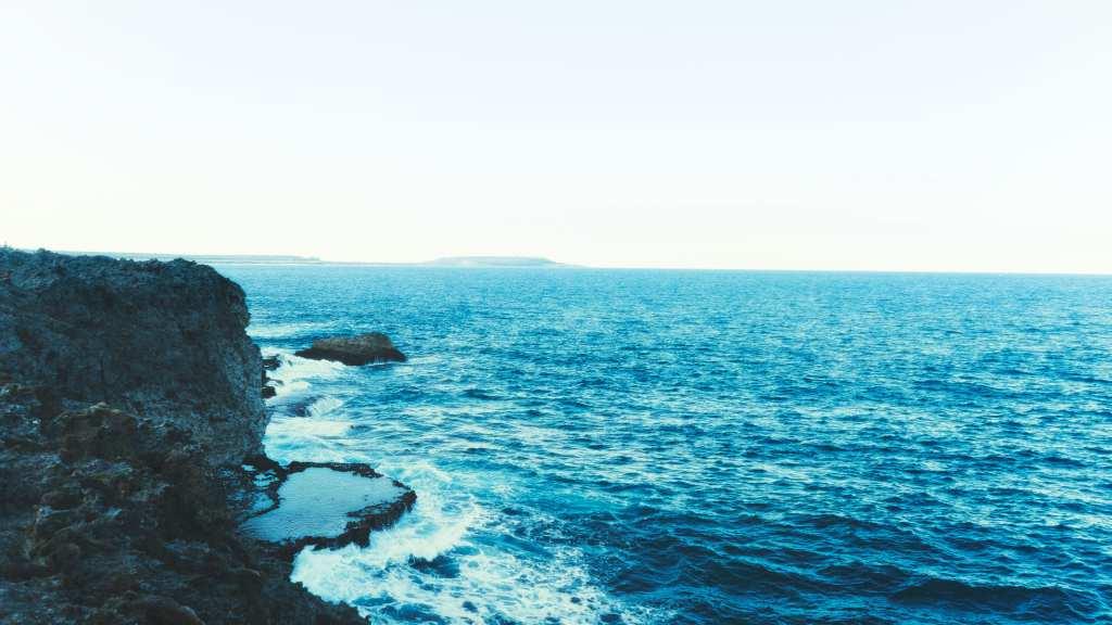 Les falaises de Xodr et le paysage