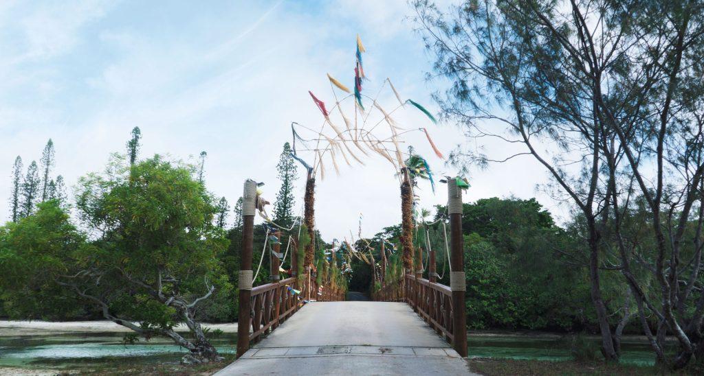 pont à l'ile des pins