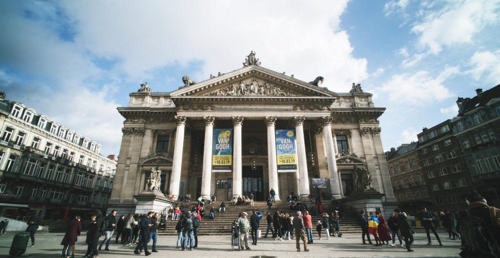 La place de la Bourse de Bruxelles