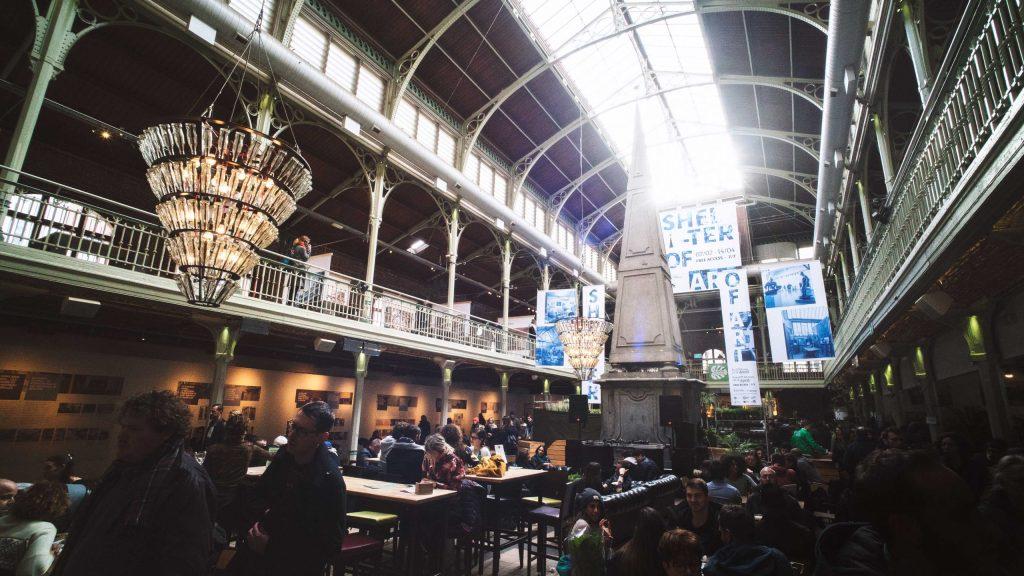 Les Halles Saint Gery à Bruxelles