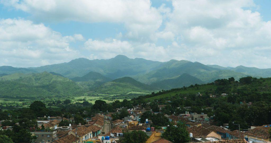 trinidad vue d'en haut