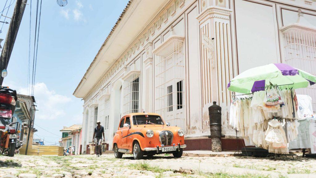 plaza mayor à Cuba