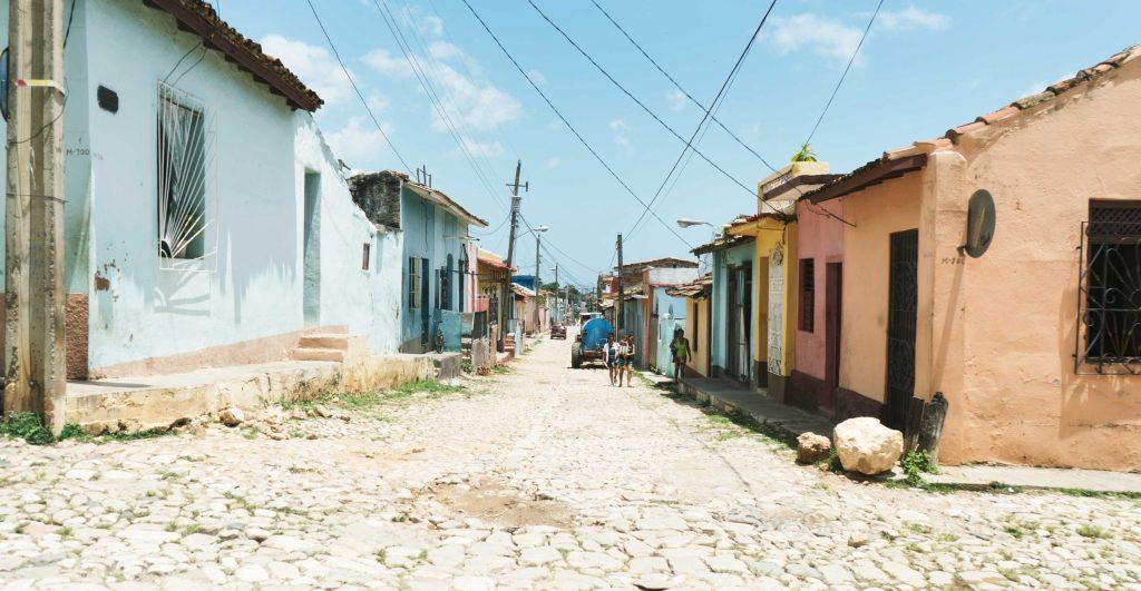 rues quartiers plaza santa ana