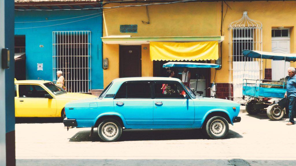 voiture à trinidad