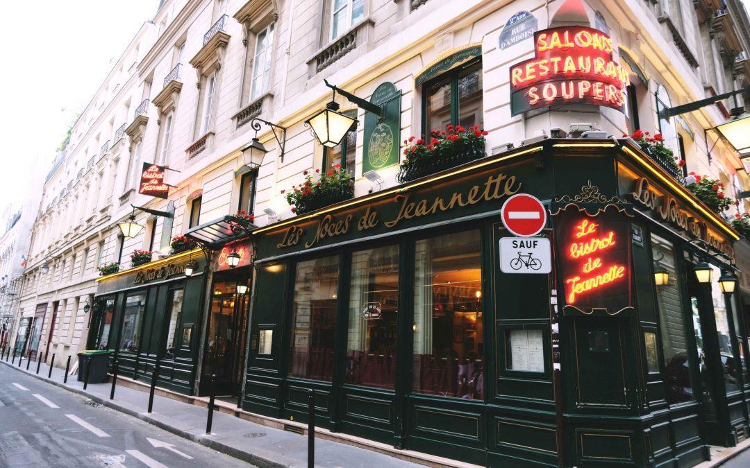 Les Noces de Jeannette : restaurant centenaire et cuisine traditionnelle française au coeur de Paris