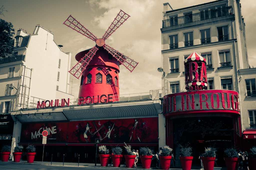 moulin rouge à Paris