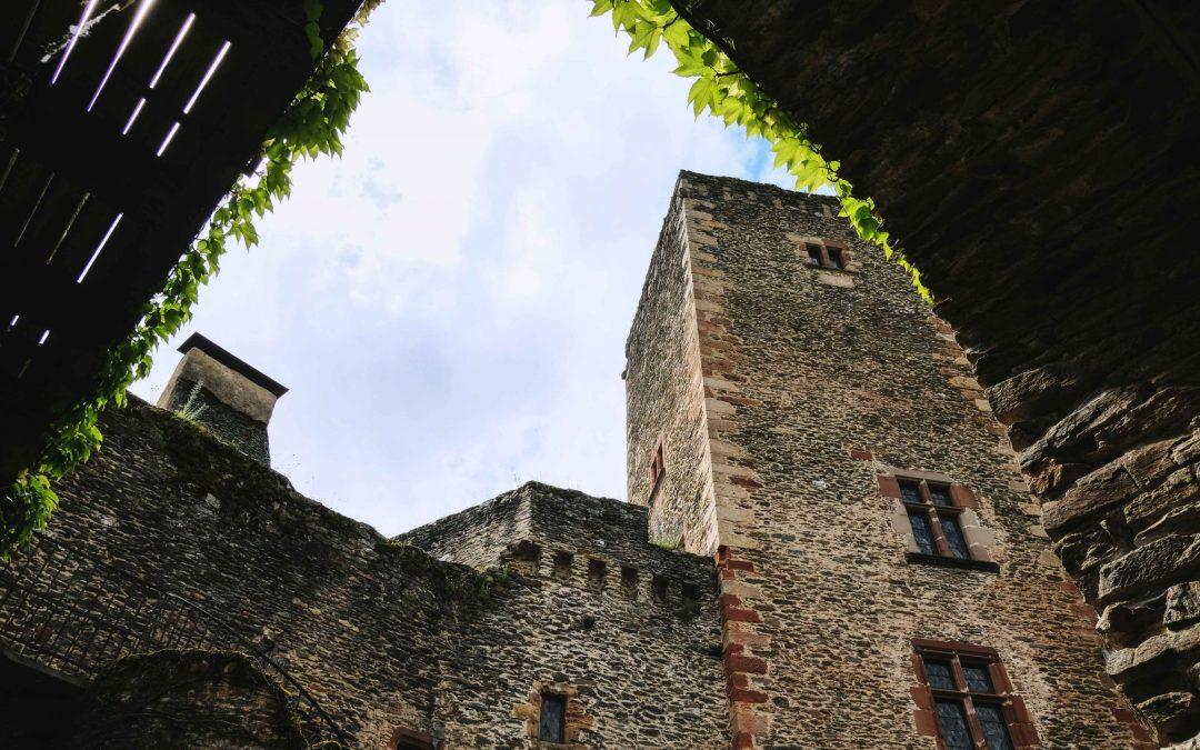 Le château de Belcastel : au coeur d'un des plus beaux villages de l'Aveyron