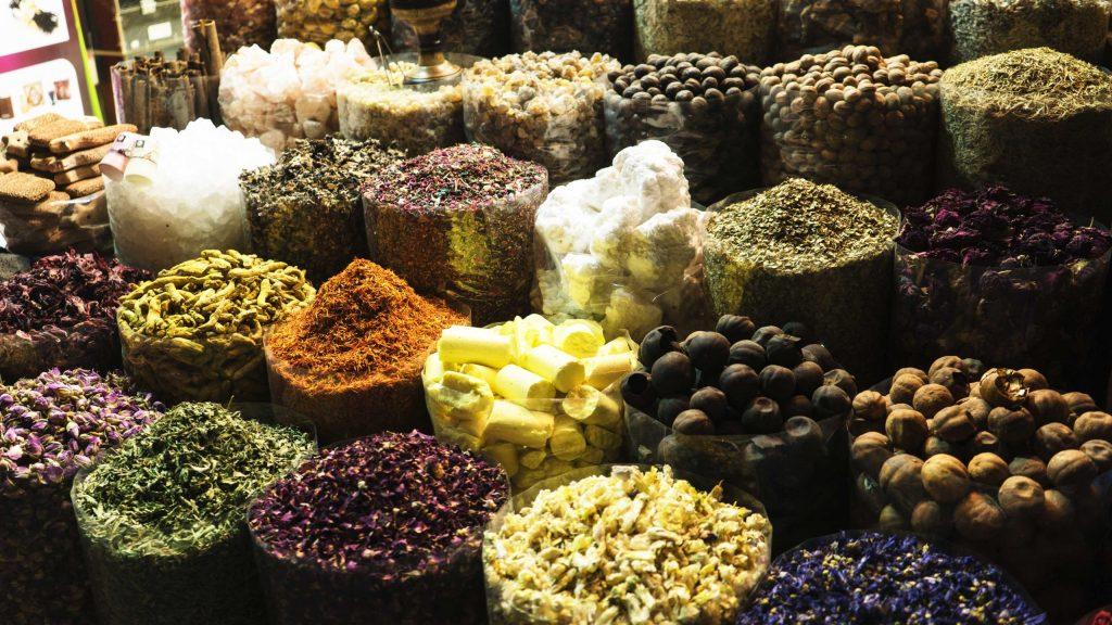 souk aux épices de Dubaï