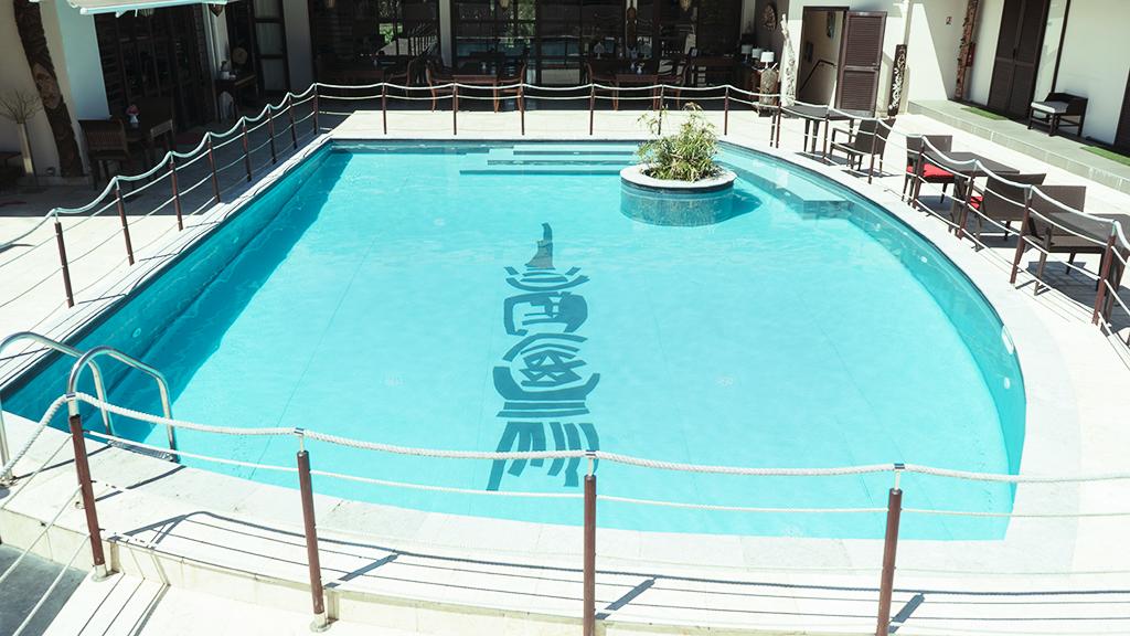 piscine hôtel hibiscus koné