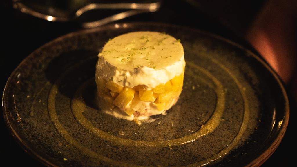 la tarte sablée ananas passion