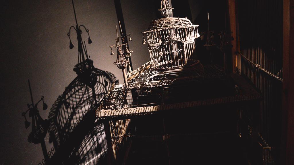 cages en décoration