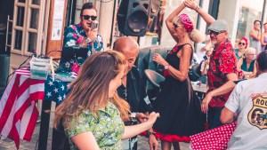 danses au festival bethune retro