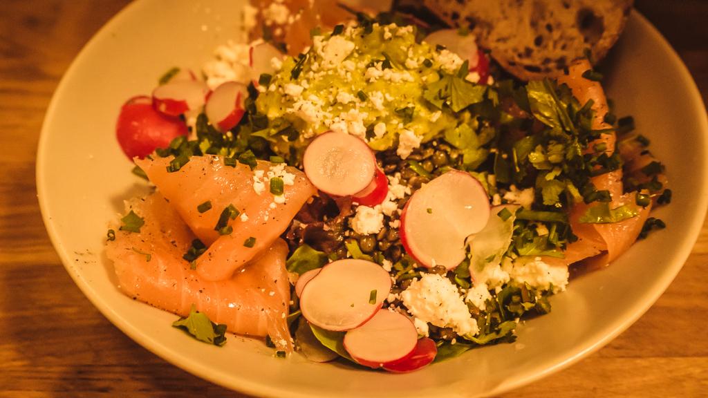 restaurant Sarra salade originale
