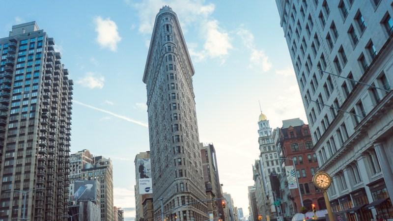 le flatiron à new york