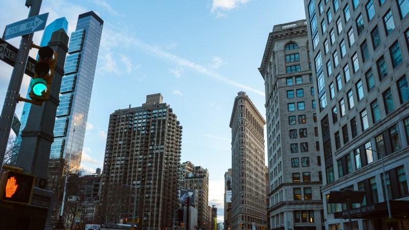 broadway et le flatiron à new york