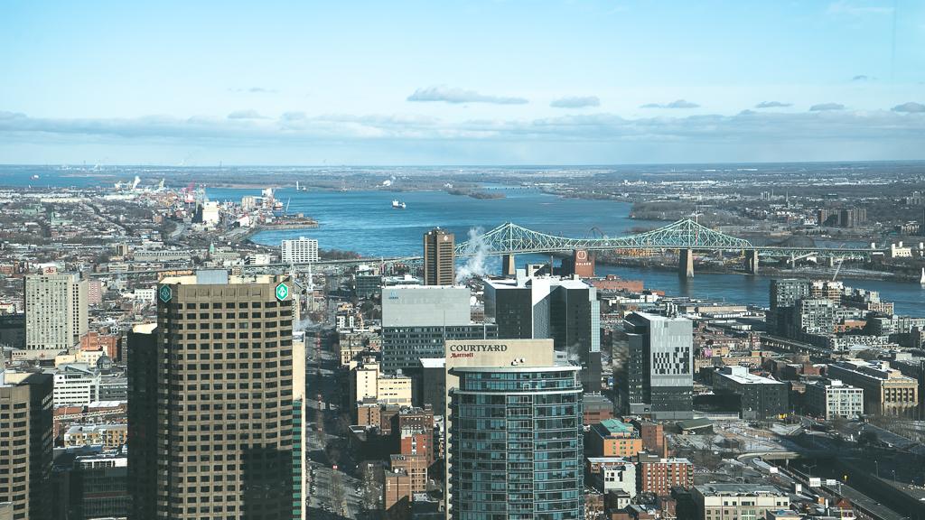 Montréal vu de l'observatoire