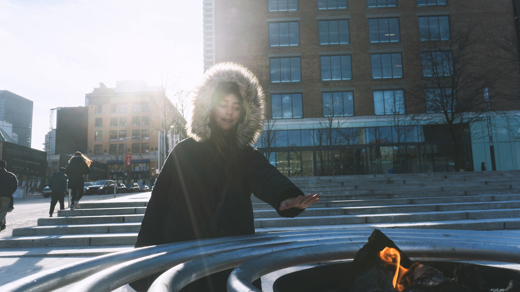 eatmytravel se réchauffe dans les rues de Montréal