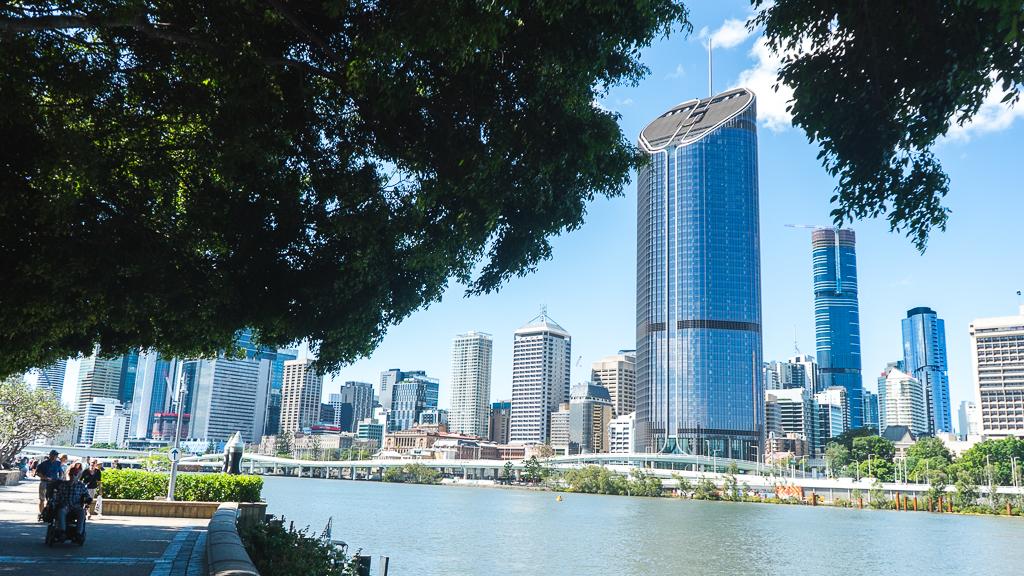 vue de Brisbane en Australie