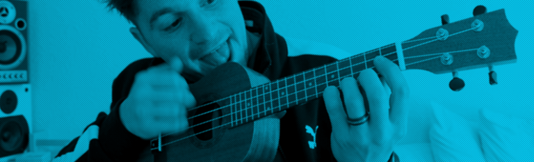 header rock riffs for ukulele beginners