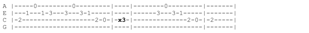 The Offspring - Staring At The Sun - Ukulele Tabs