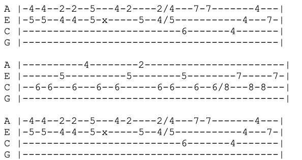 the smiths - this charming man - ukulele tabs