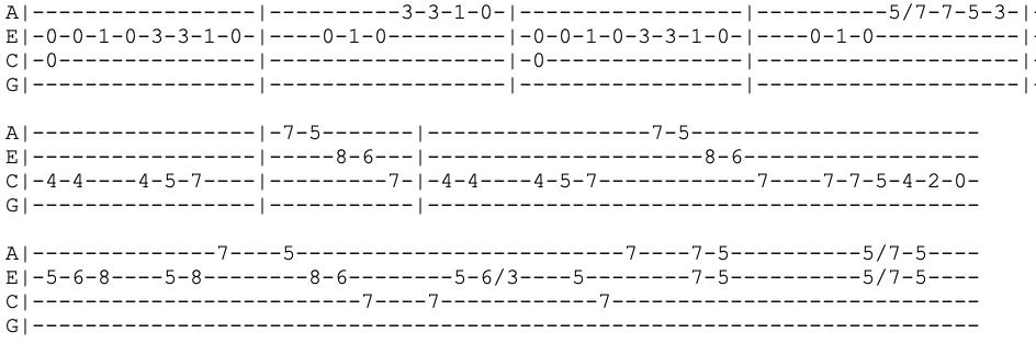 nirvana - all apologies - ukulele tabs