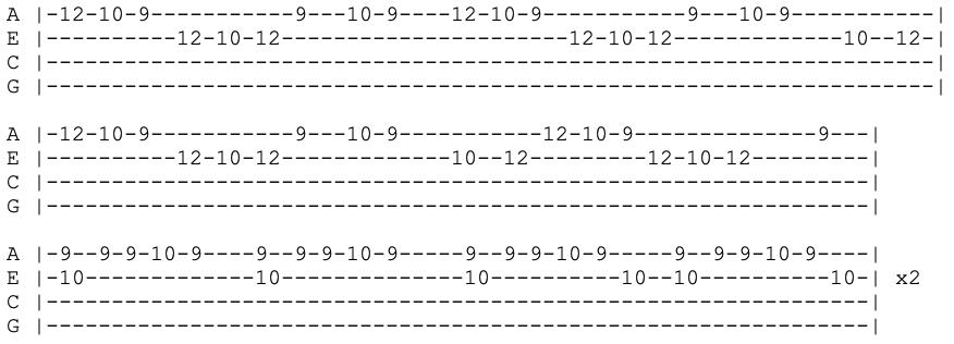 lul uzi vert - xo tour lif3 - vocal - ukulele tabs