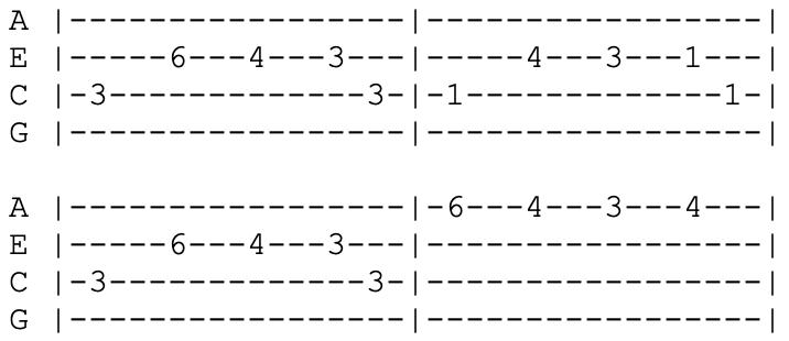green day - ukulele tabs - longview